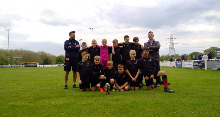 Rastrick High School & Sixth Form Year 7 Calderdale School Football Cup Winners