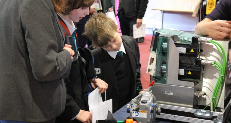 Rastrick High School Students Get A Taste Of The Manufacturing Industry