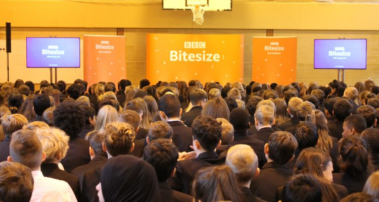 BBC Bitesize Deliver Careers Advice For Rastrick High School Students