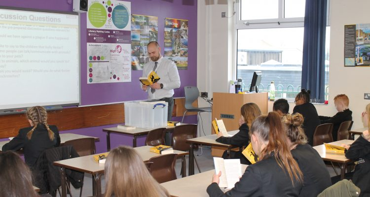 Rastrick High School Launches Innovative Reading Programme Designed To Get Teenagers Away From Screens And Into Books